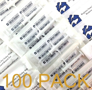 Picture of 100-Pack of Homeward Bound Pet Mini Microchips - only $5.00 each