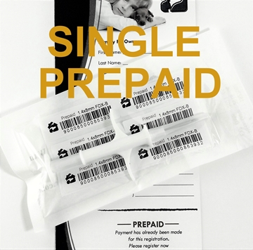 Picture of Single Prepaid HBP Microchip
